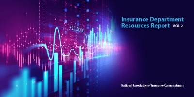 NAIC Releases 2018 Insurance Department Resources Report — Volume Two